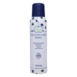 Desodorante Aerossol Giovanna Baby Blueberry 150ml