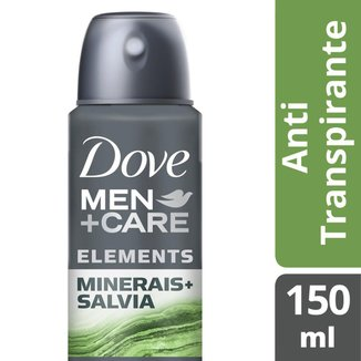 Desodorante Antitranspirante Aerosol Dove Men+Care Minerais + Sálvia 150ml