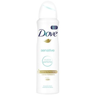 Desodorante Antitranspirante Aerosol Dove Sensitive 150 ML