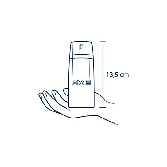 Desodorante Antitranspirante Aerosol Seco Axe Black 152ml - Incolor
