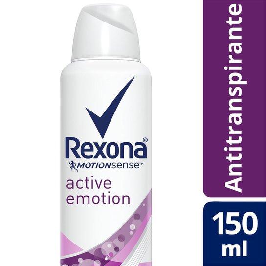 Desodorante Antitranspirante Rexona Active Emotion 150ml - Incolor