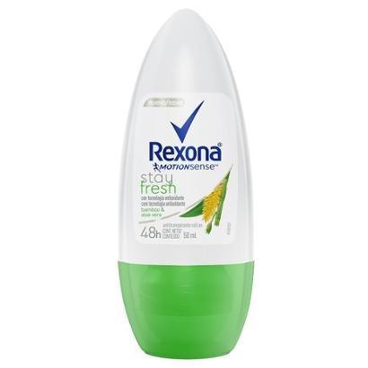 Oferta Desodorante Antitranspirante Roll-On Rexona Bamboo 50ml por R$ 7.96