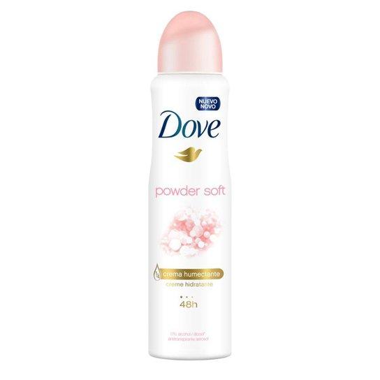 Desodorante Dove Antitranspirante Powder Soft Aerosol Feminino 150ml - Incolor