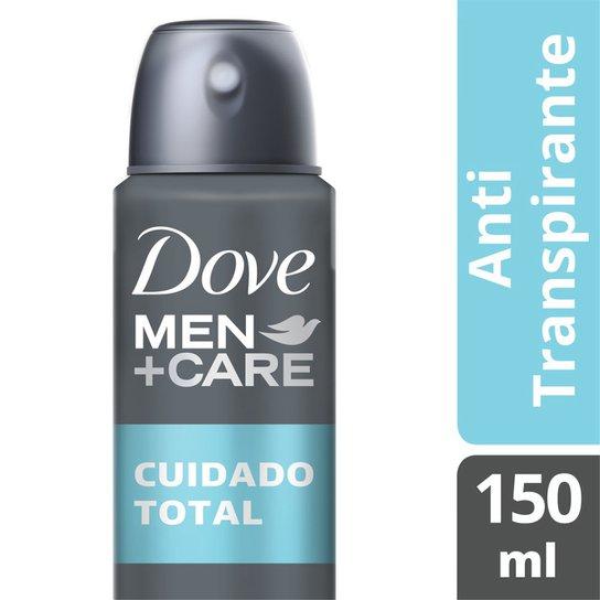 Desodorante Dove Men Care Cuidado Total Aerosol Masculino 150ml - Incolor
