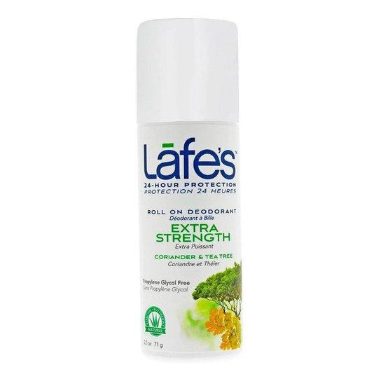 Desodorante Lafe's Natural Roll On Extra Strength 1Un - Incolor