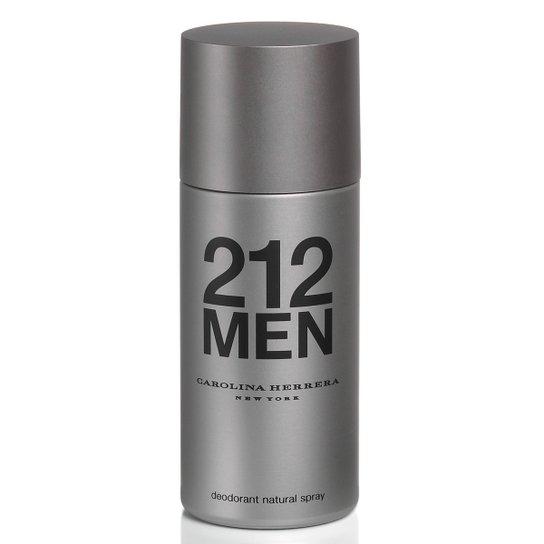 Desodorante Masculino 212 Men Carolina Herrera 150ml - Incolor