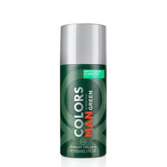 Desodorante Masculino Colors Man Green Benetton 150ml