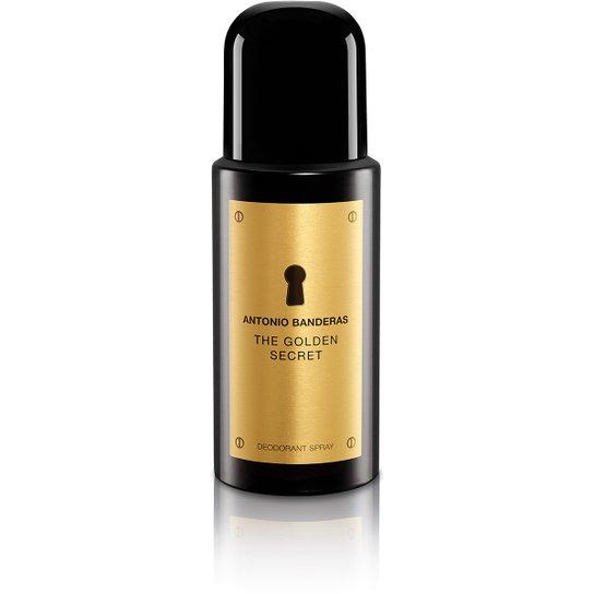 Desodorante Masculino The Golden Secret Antonio Banderas 150ml - Incolor