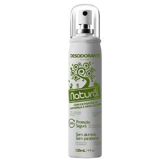 Desodorante Natural com Extratos de Camomila e Erva Cidreira 120ml Suavetex