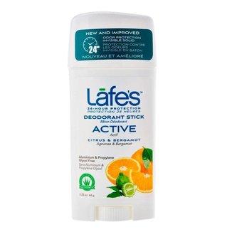 Desodorante Natural Lafe's Twist Active 64g