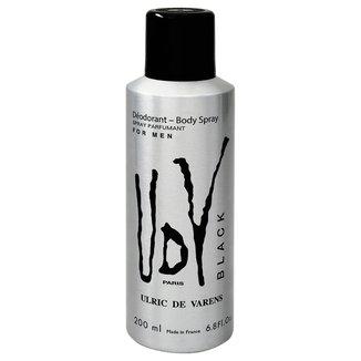 Desodorante Ulric de Varens UDV Black Spray Masculino 200ml