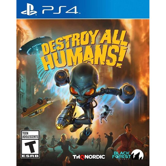 Destroy All Humans! - PS4 - Incolor