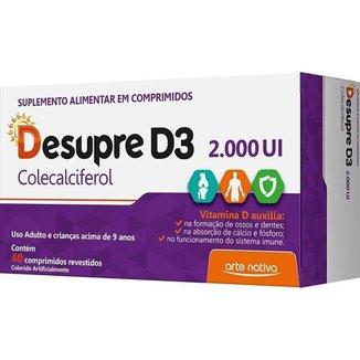 DESUPRE D3 2000UI 40 CP VITAMINA D ARTE NATIVA