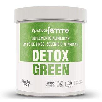 Detox Green Suco Verde Natural Nutricomplexo 300g Apisnutri