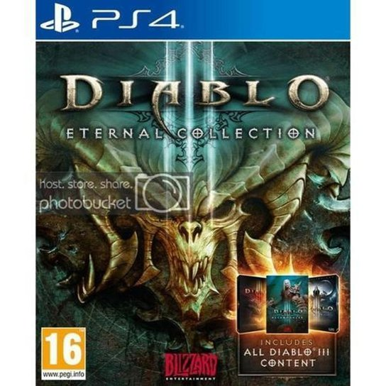 Diablo III Eternal Collection - PS4 - Incolor