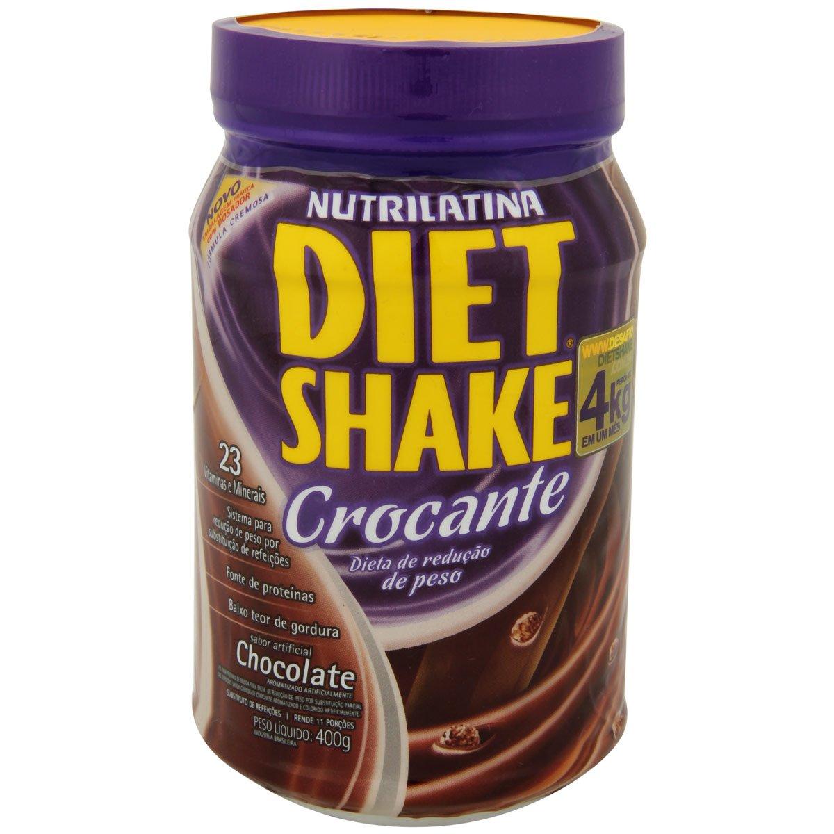 chocolate shake diet