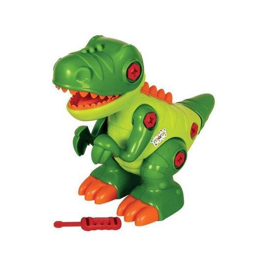 Dinossauro de Brinquedo Emite Som T-Rex - Colorido