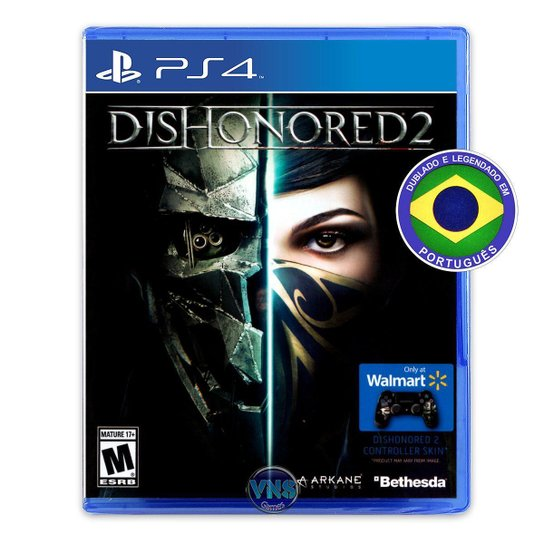 Dishonored 2 - PS4 - Incolor
