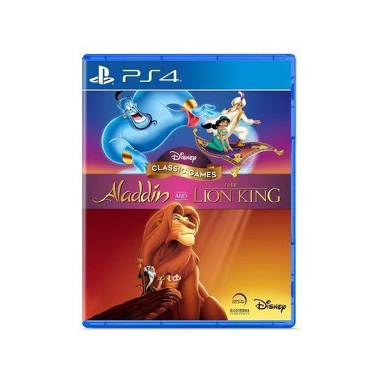 Disney Classic Games: Aladdin and the Lion King - Incolor