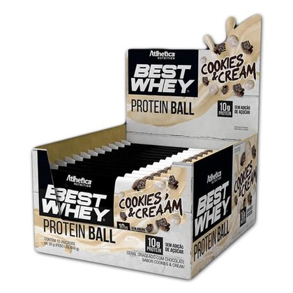 Display Best Whey Protein Ball 12Un 50g - Atlhetica Nutrition