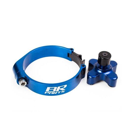 Dispositivo De Largada BR Parts Yzf 250 04/13 + Yzf 450 02/13 + Yz 125/250 04/13 - 63.4mm - Azul