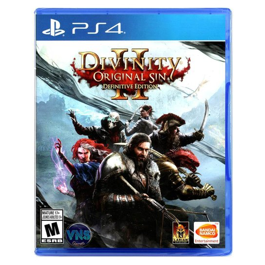 Divinity Original Sin 2 - Definitive Edition - PS4 - Incolor
