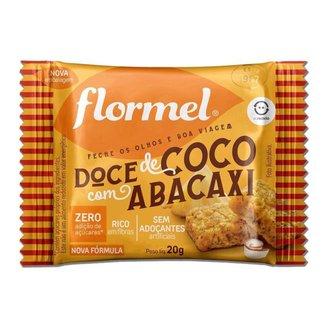 Doce Abacaxi com Coco Zero Açúcar Flormel