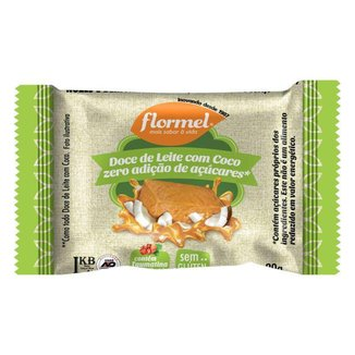 Doce De Leite Com Coco Zero Açucar 20g Flormel