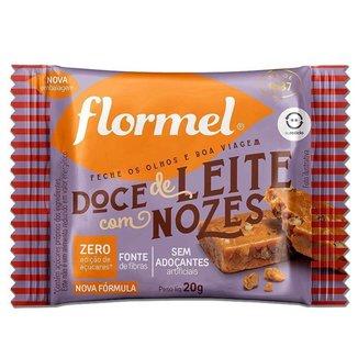Doce de Leite com Nozes Zero Açúcar Flormel