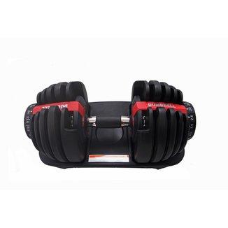 Dumbell Halter Regulável 24kg WCT Fitness