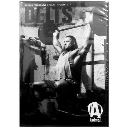 DVD Treino Animal - Delts - Unissex - Preto+Cinza