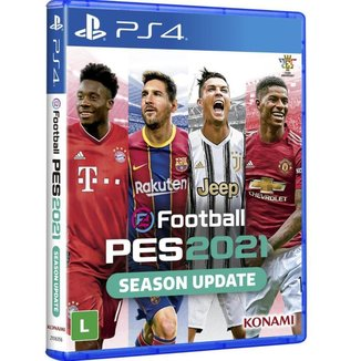 Efootball Pro Evolution Soccer 2021 - PS4