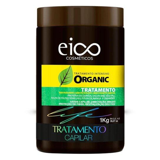 Eico Life Tratamento Intensivo Organic – Máscara de Tratamento Capilar 1Kg - Incolor