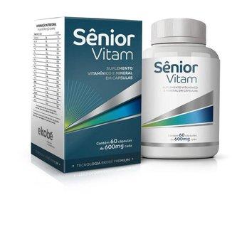 Ekobe Senior Vitam Polivitaminico 60 Caps