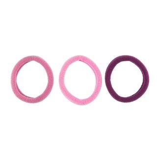 Elásticos de Cabelo Lanossi Violet 6 unidades