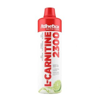 Emagrecedor L-Carnitina 2300 480Ml - Atlhetica Nutrition