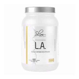Emagrecedor  L.A. Oleo De Cartamo Slim Weight Control  100 Caps