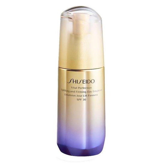 Emulsão Diurna Shiseido Vital Perfection Uplifting and Firming FPS30 75ml - Incolor