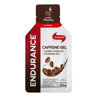 Endurance Caffeine Gel - 1 Sachê 30g Mocha - Vitafor