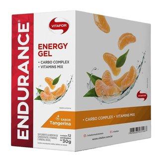 Endurance Energy Gel - 12 Sachês Tangerina - Vitafor