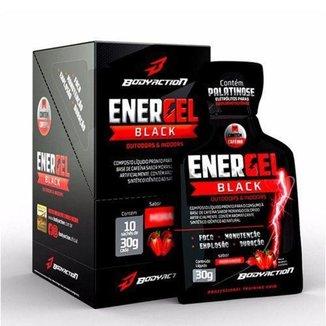 Energel Black 10 Sachês BodyAction