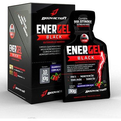 Energel Black c/ 10 Unid. - Body Action