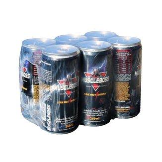 Energético 1 Pack Com 6 Unid Muscle Boss