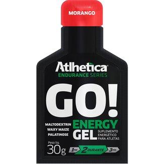 Energético GO Energy Gel c/ 10 unidades- Atlhetica Nutrition