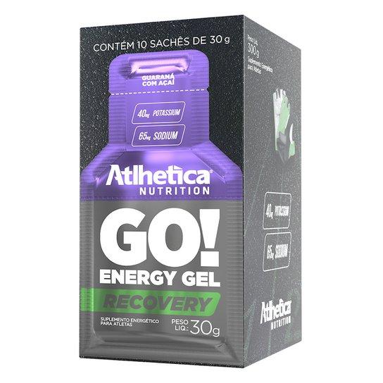 Energético GO Energy Gel c/ 10 unidades- Atlhetica Nutrition -