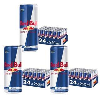 Energético Red Bull Energy Drink, 250 ml (72 Latas )