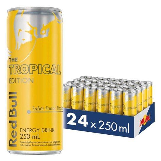 Energético Red Bull Energy Drink  250 ml 24 latas -
