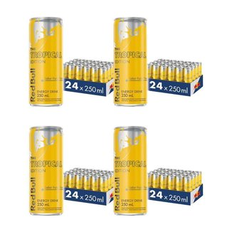 Energético Red Bull Energy Drink, Tropical, 250ml (96 latas)