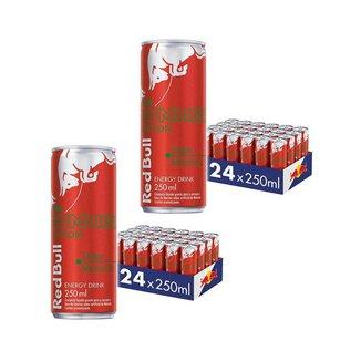 Energético Red Bull Energy Drink+Melancia, 250ml (48 latas)