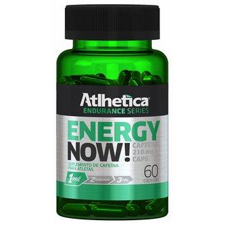 Energy Now 60 Cáps - Atlhetica Nutrition
